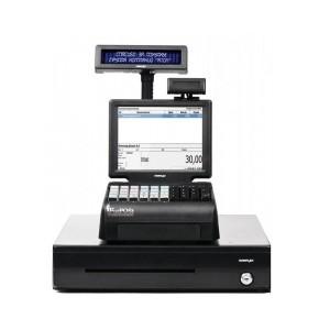 "POS-система ForPOSt Супермаркет 8"" черная [Без ФР, Windows POSReady, Frontol 6, TX-2100-B-RT, КВ, MSR123, ДП, ДЯ]"