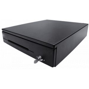 Денежный ящик АТОЛ CR-400-B черный, 425*440*100, 24V