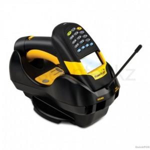Сканер ШК (ручной, лазерный, 433 Mhz радио) PowerScan M8300/DK SR, с дисплеем и клавиатурой, в комплекте с базовой станцией, кабелем USB, блоком питания