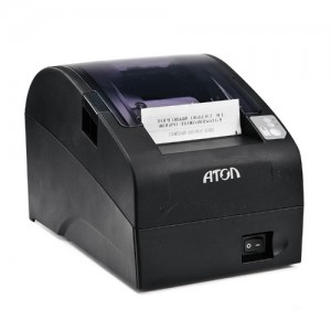 ККТ АТОЛ FPrint-22ПТК. Черный. ФН 36 мес. RS+USB+Ethernet