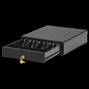 Денежный ящик АТОЛ CD-330-B черный, 330*380*90, 24V