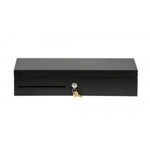 Денежный ящик АТОЛ FlipTop-B черный, 460*170*100, 24V, крышка для инкассации