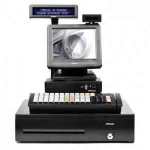 """POS-комплект 8"""" ТХ-2100 черный, LM-2008, PD-2800, CR-4000, KB-6600 MSR, без ОС"""